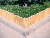 Bamboo Edging For Garden