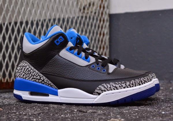 "Nike Jordan 3 Retro ""Sport Blue"""