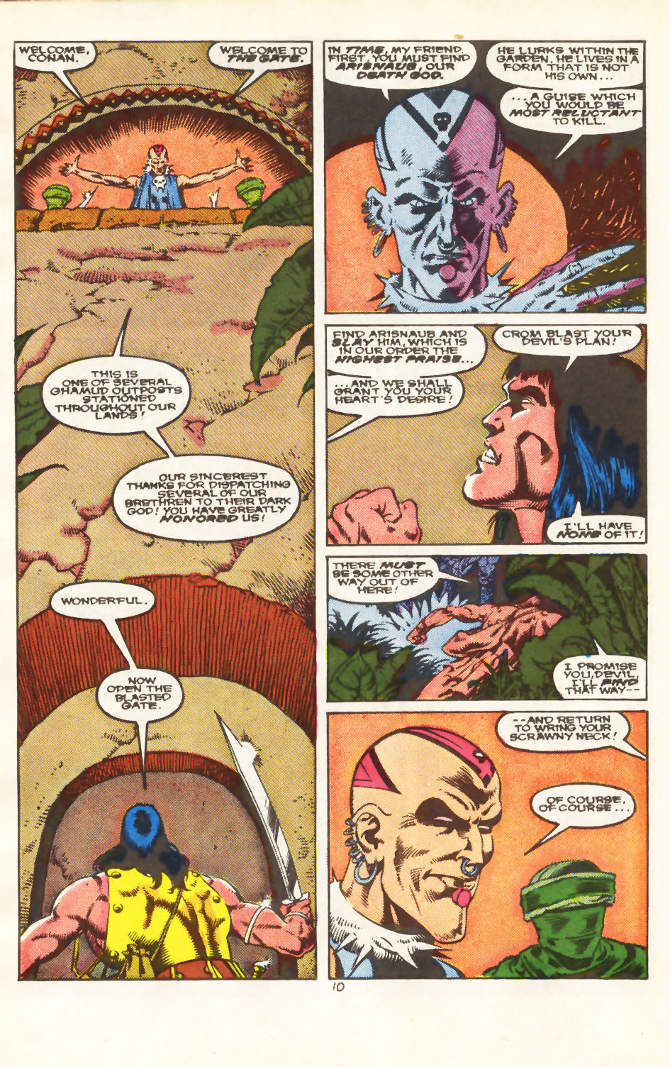 Conan the Barbarian (1970) Issue #213 #225 - English 9