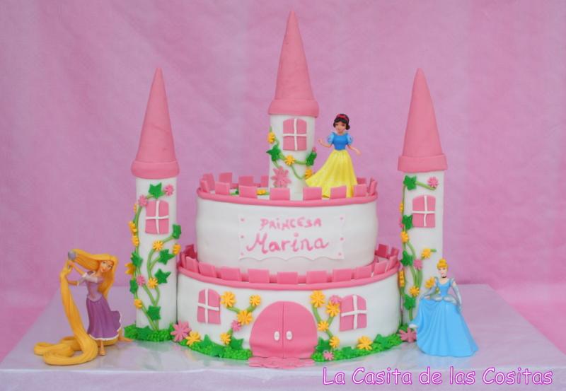 La Casita de las Cositas: Tartas Princesas Disney