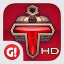 Tank Domination HD App iTunes App Icon Logo By Game Insight, LLC - FreeApps.ws