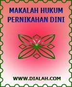 Download Makalah Hukum Menikah Dini