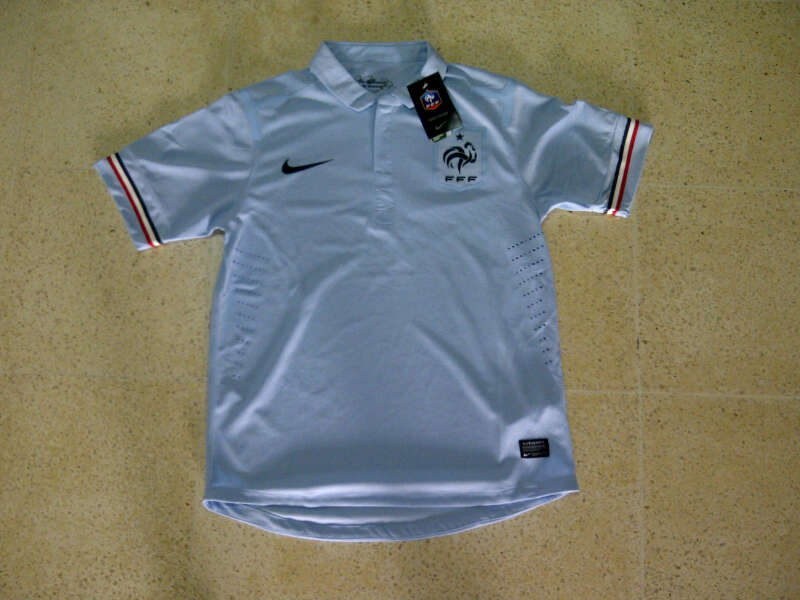 Jersey Prancis Putih 2014 Player Issue Edition