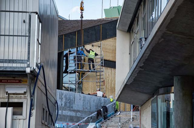 Baustelle Bikini-Haus, Budapester Straße, 10787 Berlin, 24.10.2013