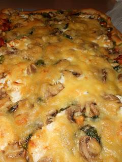 pizza casera verduras- comosinoexistieraelmañana