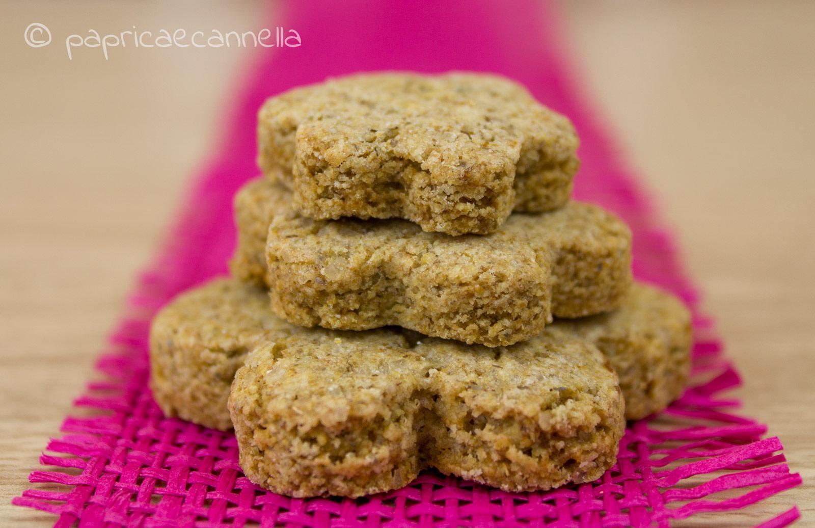 biscotti con farina di segale integrale