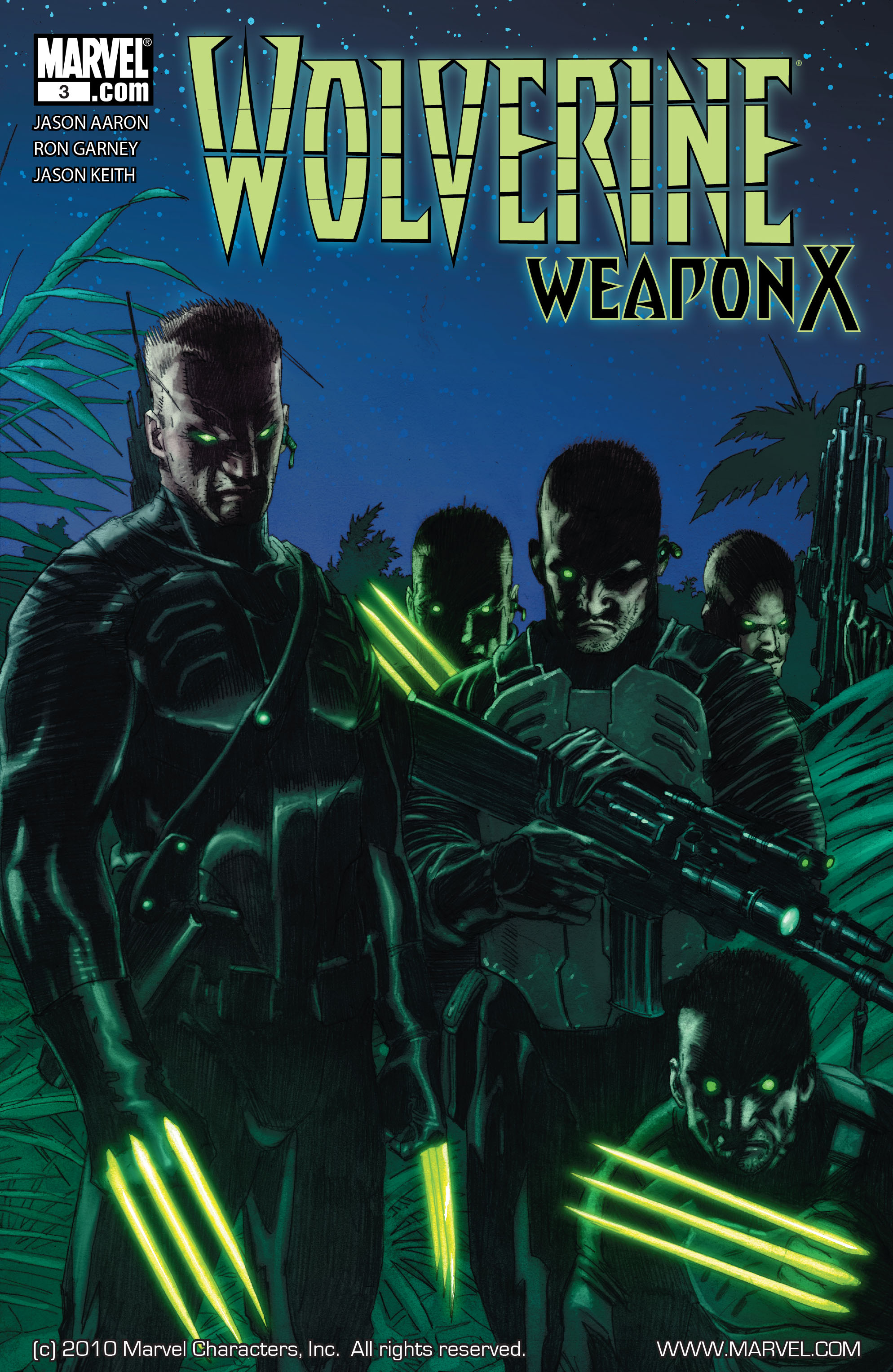 Wolverine: Weapon X #3 #14 - English 1