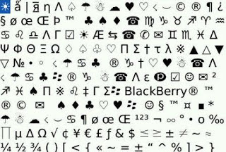 autotext blackberry
