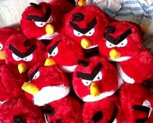 BONEKA ANGY BIRD L & M