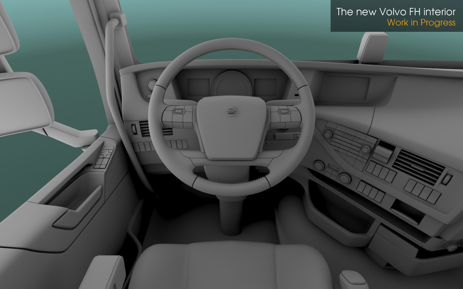 Scs software 39 s blog the new volvo fh series news for Interieur software