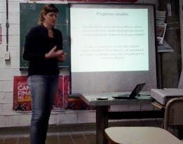 Primera generación: Licenciada en Antropología Social investigadora en temas de Trabajo.