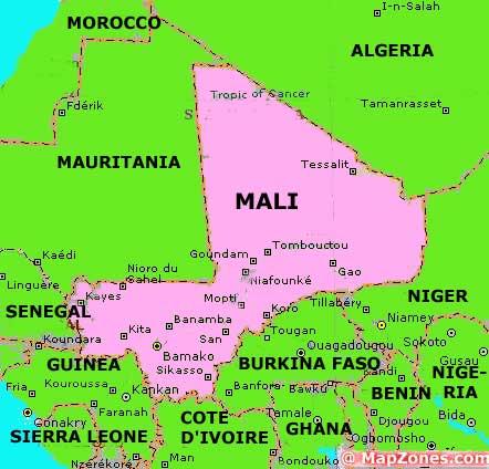 Dorsin 39 s in different country Mali
