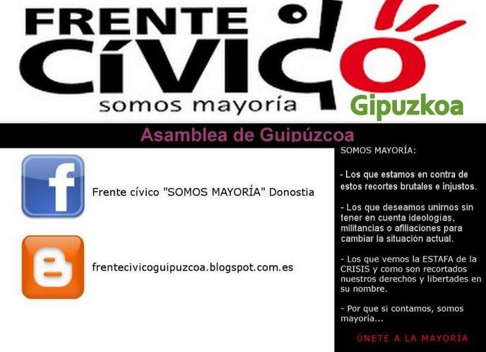 Frente Cívico Guipúzcoa - Somos Mayoría