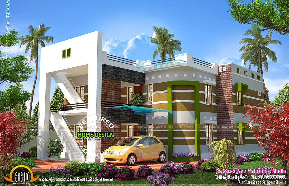 Modern house construction cost