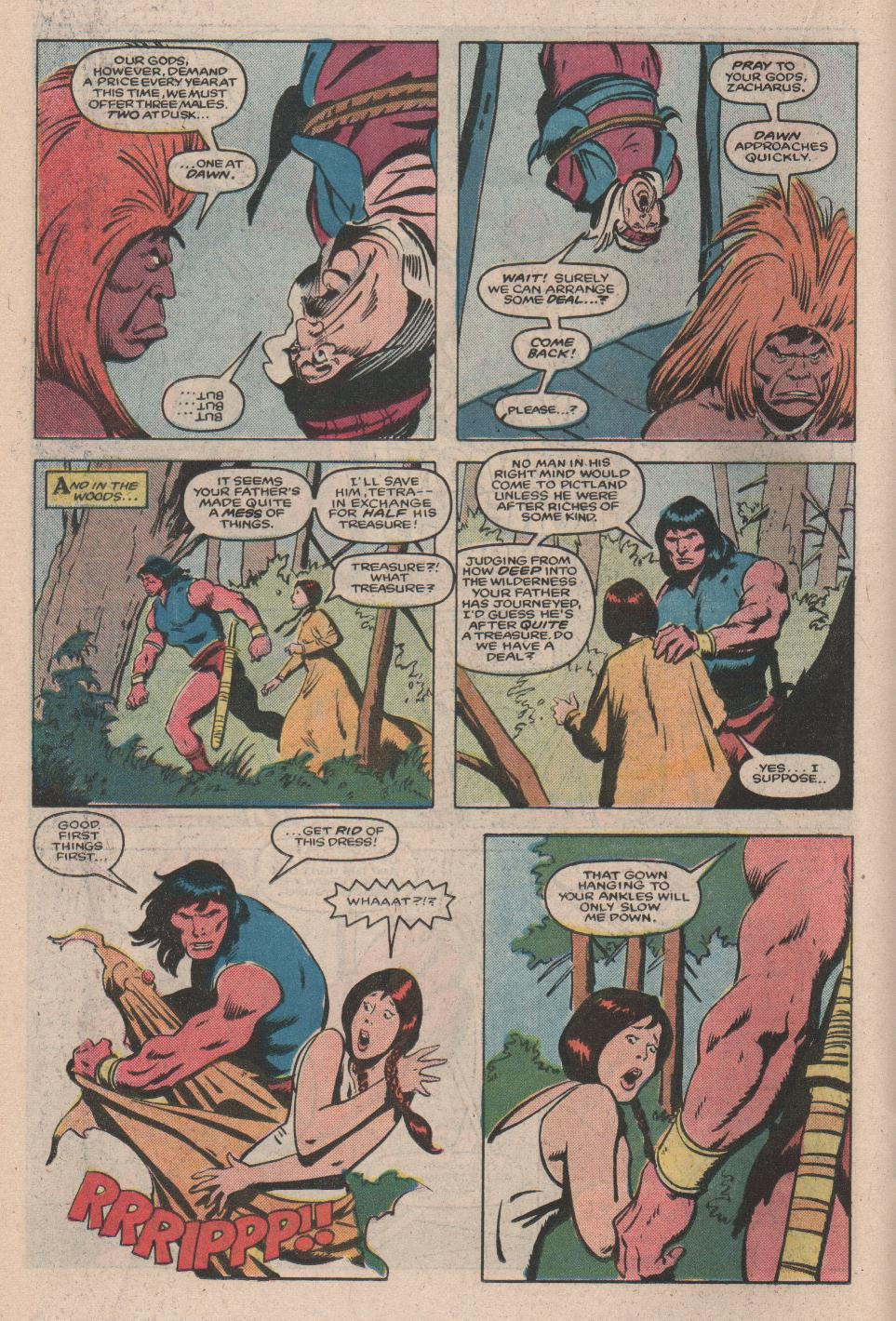 Conan the Barbarian (1970) Issue #172 #184 - English 13