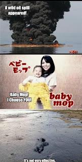 oil spill baby mop fail its not very effective