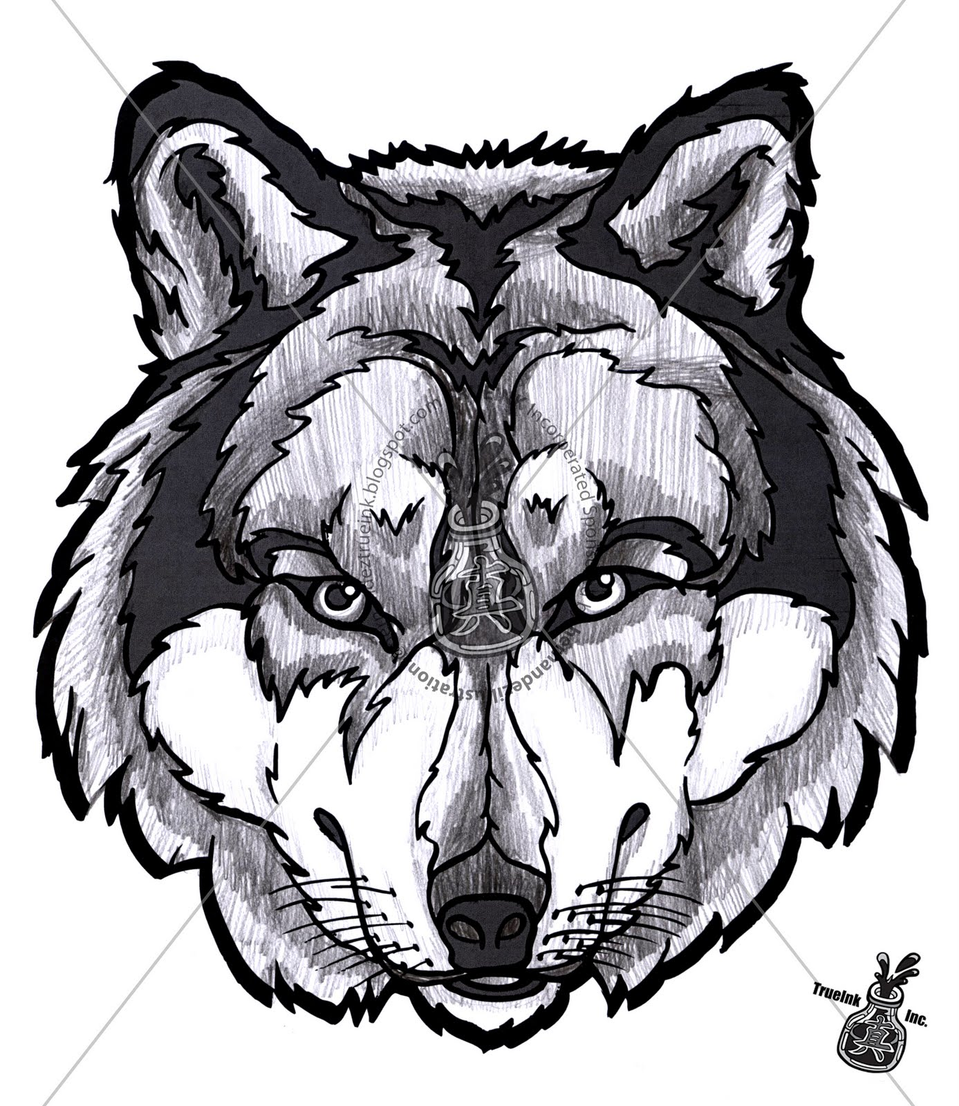 3d Wolf Mask Template Printable Animal Masks Wolf Printable 3d