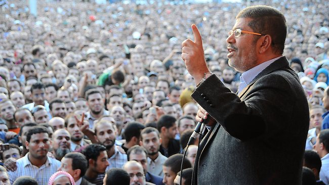 Morsi on the downfall