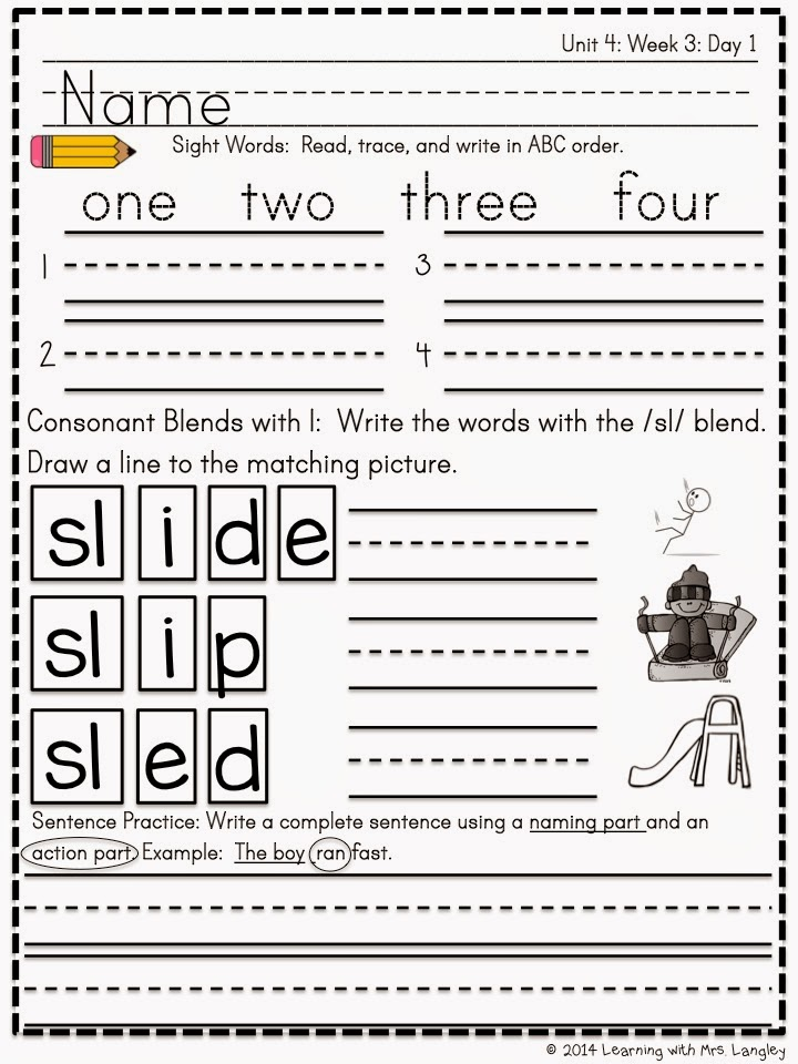 http://www.teacherspayteachers.com/Product/Kindergarten-Morning-Word-Work-Unit-4-1499278