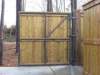 Деревянный забор. Фото 55