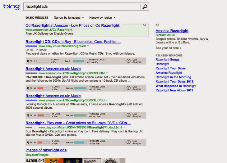 How searchers view search results on Bing // #hshdsh