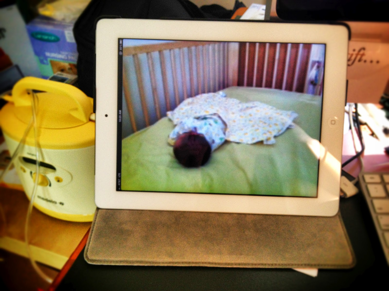 the underwear drawer make your own baby video monitor. Black Bedroom Furniture Sets. Home Design Ideas