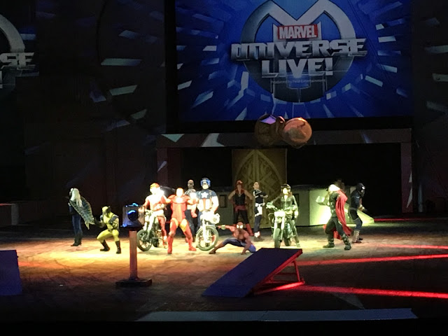 Honest Review of Marvel Universe Live, Marvel Universe Live Pictures, Marvel Universe Live Review, Marvel Universe Live Show
