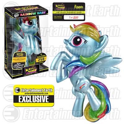 "Entertainment Earth Exclusive My Little Pony ""Metallic"" Rainbow Dash Hikari Sofubi Vinyl Figure by Funko"