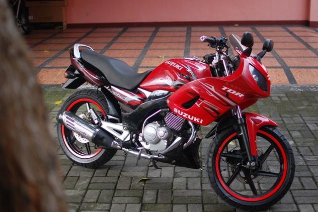 Modifikasi Motor Suzuki Thunder 125