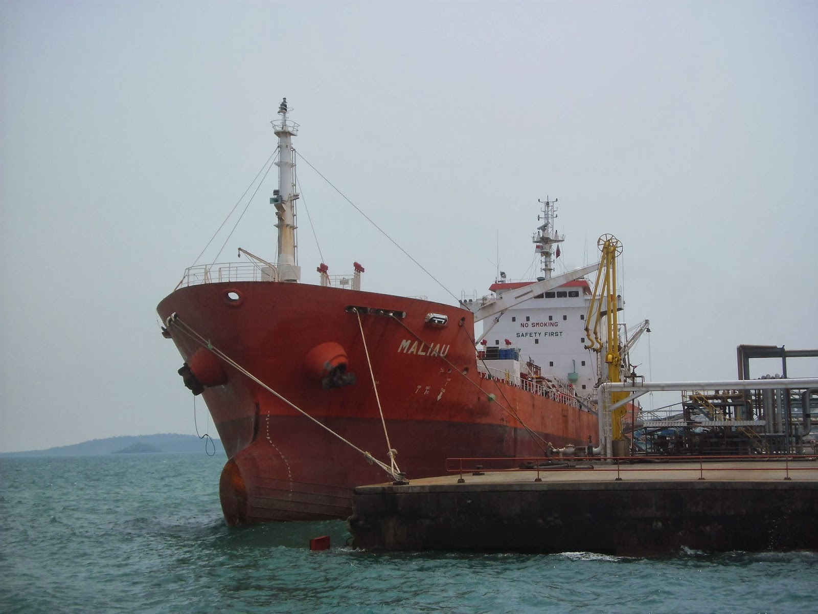 On Hire Survey Kapal Tanker Maliau