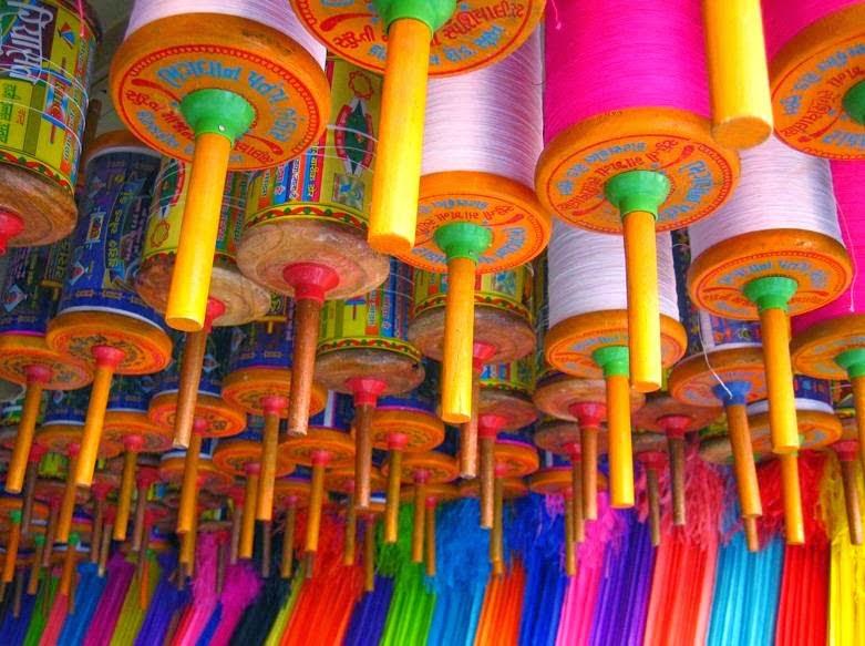 Makar Sankranti kite festival of gujarat