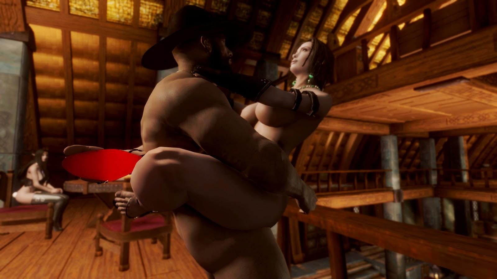 Skyrim nude skins softcore clip