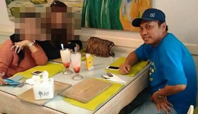 Foto Gayus di Luar Tahanan Asyik Makan di Restoran