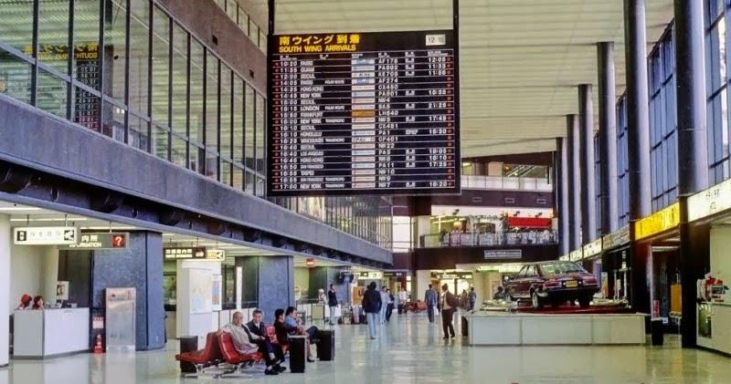 Museum Origami Cantik di Narita Airport Jepang