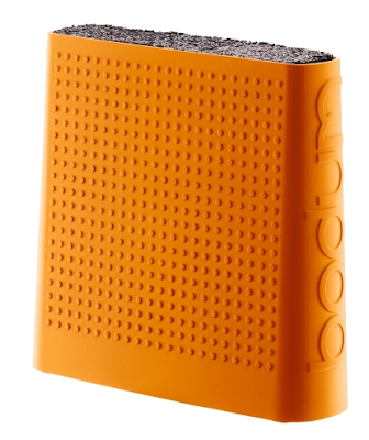 knife block orange