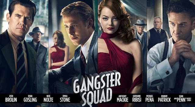 Ensemble character poster Gangster Squad