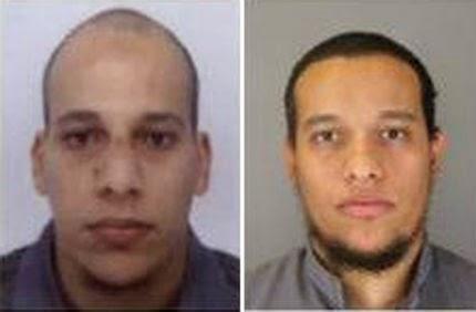 терористите са братя, граждани на Франция - Саид Куаши и Шериф Куаши
