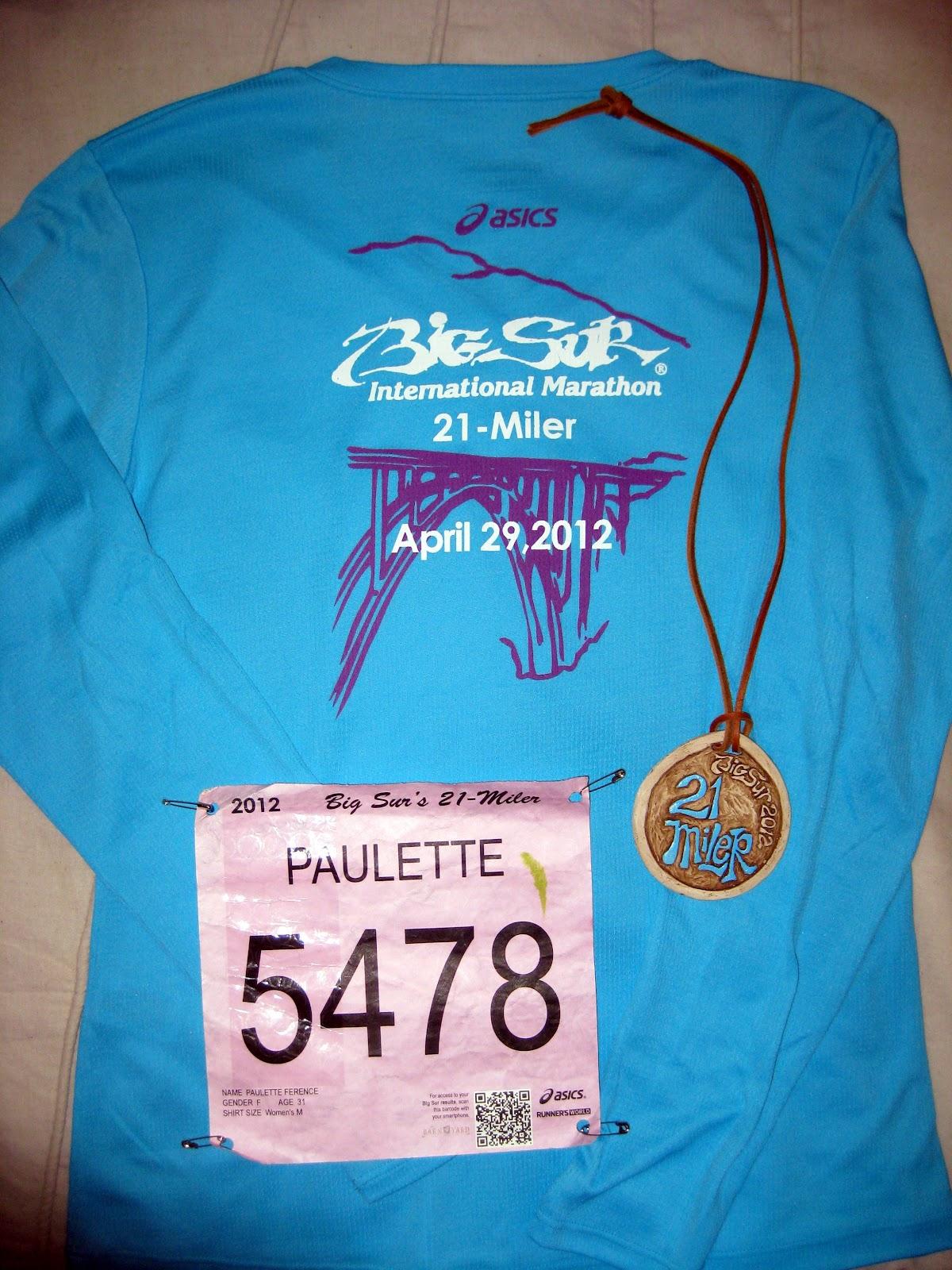 what to wear for big sur marathon