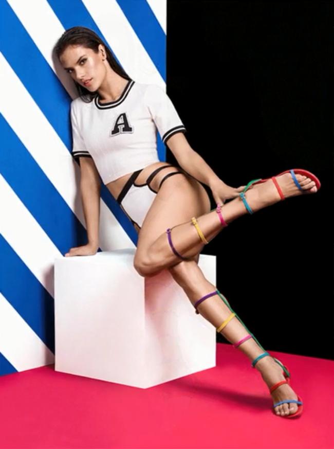 Schutz Spring/Summer 2015 Campaign featuring Alessandra Ambrosio