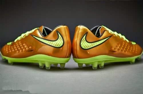 2014 Nike Gold Hypervenom Phatal Premium FG