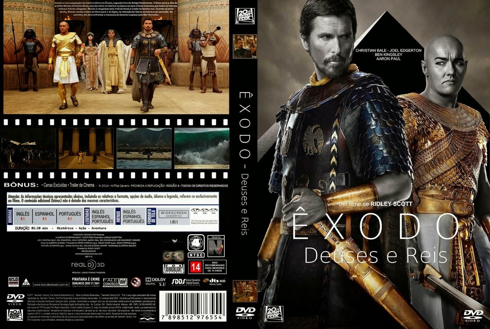 Download Êxodo Deuses e Reis DVD-R Autorado  C3 8Axodo 2B  2BDeuses 2BE 2BReis