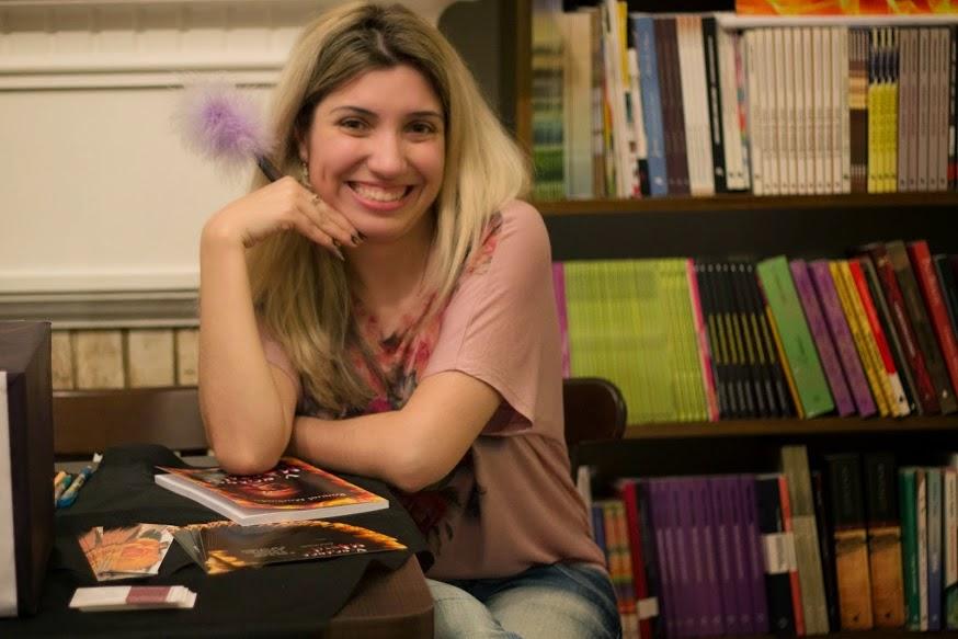 Parceria com a autora Raquel Machado