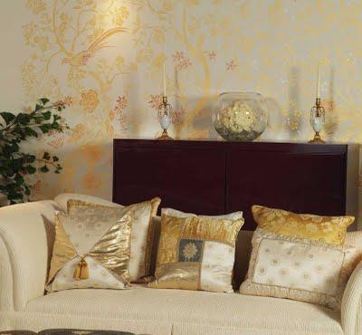 Consigli per la casa e l 39 arredamento decorare le pareti - Stencil camera da letto ...