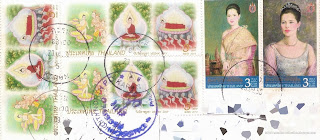 Stamps: Visak Day 2013 & Her Majesty Queen Sirikit