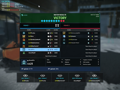 Ghost Recon Online - Round Stats New