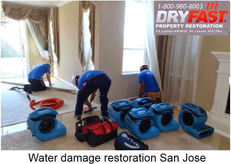 water damage restoration san jose