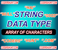 string data type