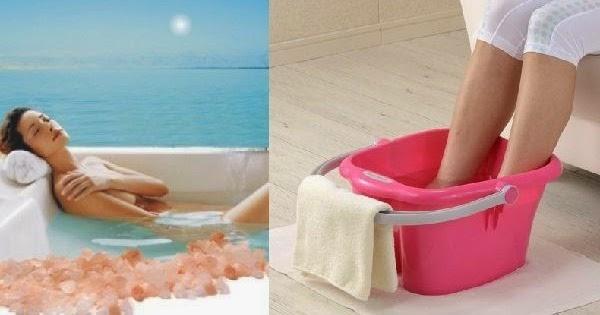 how to use bath salts in bucket