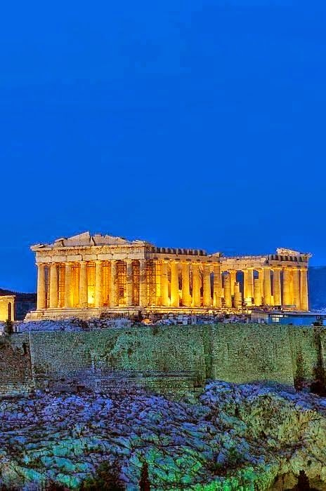 Acropolis of Athens, Greece