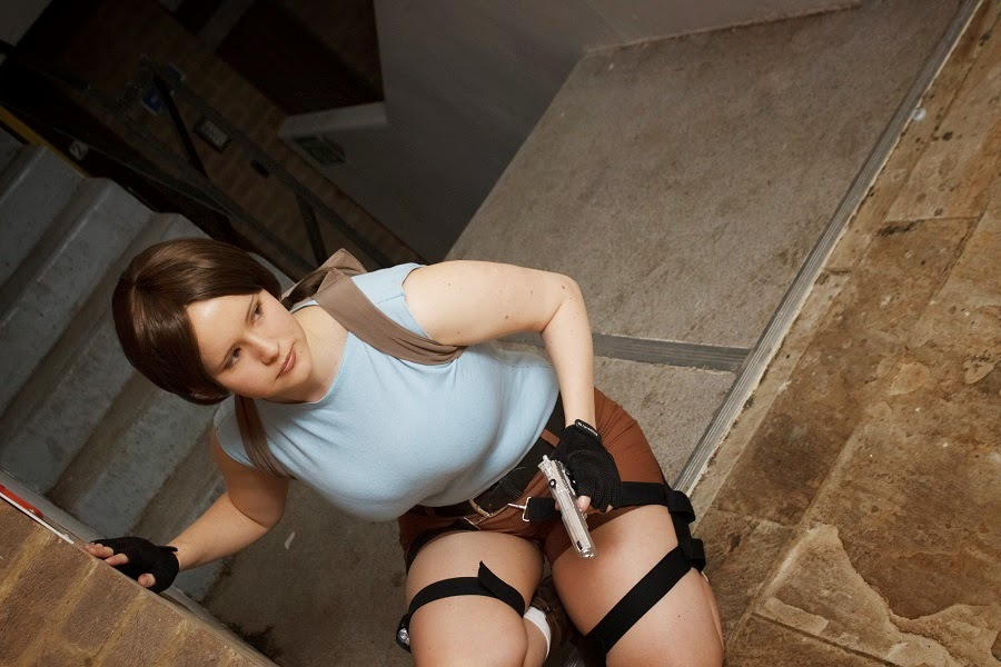 Tomb Raider Lara Croft Cosplay